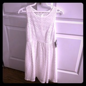 Nanette Lapore white empire dress size 4